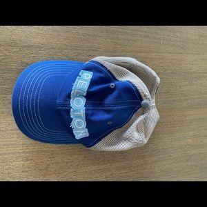 Peloton Distressed Trucker Hat
